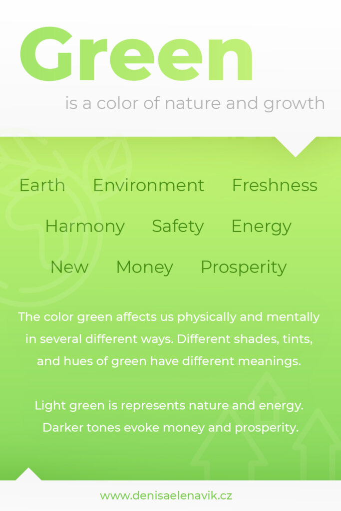 Psychology and meaning of Green Color